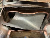 54 Oval trunk floor Install