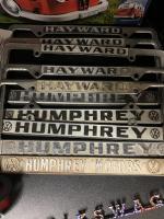 Hayward Humphrey License Plate Frames