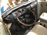 My new steering wheel for my panel