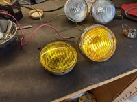 T34 Ghia seals and Fog - Headlight rebuild