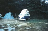 1966 slide photo with Dormobile Westy