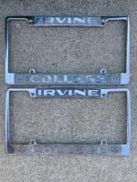 Super rare Irvine Ca. College dealership frames