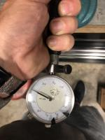 Dial bore gauge readings