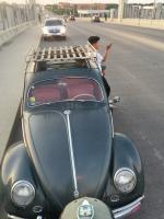 Vw bug 1954 3 fold Ragtop