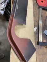 Chassis rail - rear beam