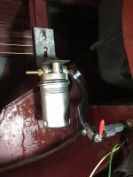 hard fuel line and bulkhead fitting and filter