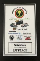 Notchback 1st place, North Bay 2021 VW show