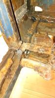 1960 Dove Blue Rust Repair