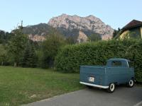 57 single cab repair from Austria driving
