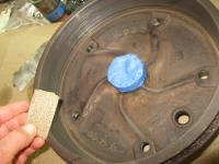 rear brakes with self arcing