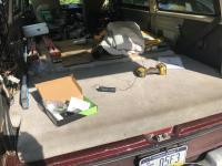 Rear A/C repair