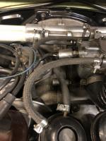 Early sidedraft motor