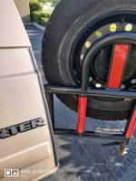 Rea Tire Carrier Hatch protection