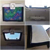 Westfalia skylight cover & screen