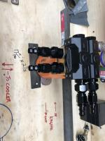 Remote oil Filter Mount w/ Thermostatic sandwich palte