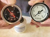 VDO gauge comparison