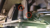 bolts on back and side of auto trans