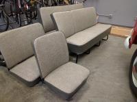Split Bus Seat Upholstery