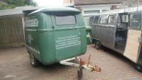 Signwritten custom Split Van trailer