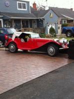 VW kit car    37 Jaguar on 65  vw frame  and  engine