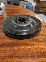 v belt crank pulley