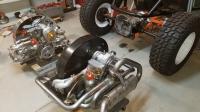 My Detroit sandrail/Carmela's concession/tri mil bobtail exhaust