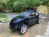 1964 beetle paint work