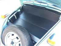 trunk liner installed for a 71 standard beetle
