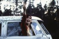 Winona Ryder and Split Bus in the movie 1969