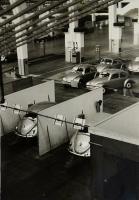 Vintage VW factory photo