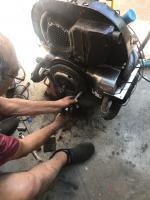 Trans alignment and cut down screws