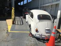 VW on ferry boat