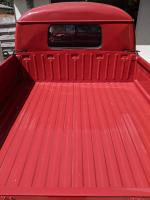 Red Uruguay Double Cab bed metal