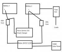 vanagon -- battery system diagram