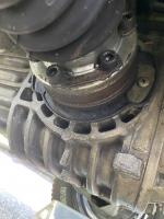 Trans axle flange seal repair