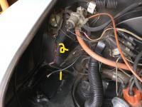 Karman Ghia Engine Compartment Battery Area