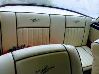 1963 Type 34 Karmann Ghia embroidered seats