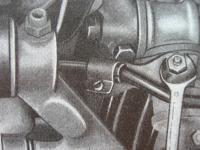 front brake hose holder