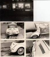 Convertible Beetle street and wrecked photos