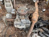 Out Picking VW Parts today, found this sad old 36hp Engine with a gone case!