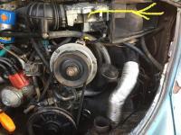 AFM Bug stick into meter