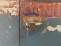 1957 Dove Blue Double Door Bus Cargo Door Latch