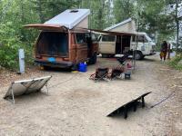 Van camp...