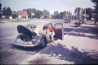 Split Bug vintage slide photo