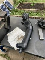Heater Box Flange Sanding
