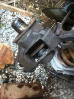 front brakes early girling