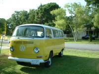 1972 Bay Window Bus - Passenger model