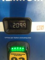 Current gas price