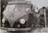 Slammed Skanska Bus