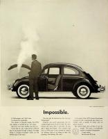 Impossible 1961 VW Beetle ad